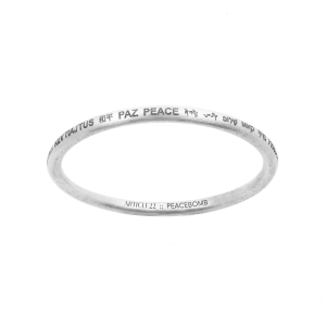 Peace ALL AROUND Bangle Large Article22