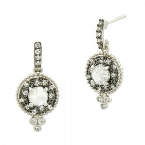Signature Single Stone Drop Earring PRZE020324B