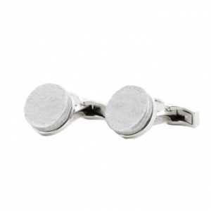 THE NINES x ARTICLE22 - Circle Disc Cufflinks Sterling Silver