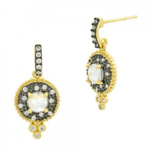 Signature Single Stone Drop Earring YRZE020324B